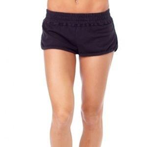SPIRITUAL GANGSTER retro gym shorts NWOT